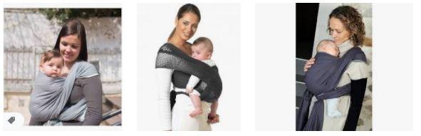 L'écharpe de portage : est-ce bon pour le bébé ?